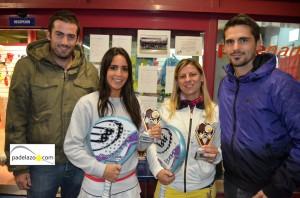 Leticia Abalos y Maria Luisa Gonzalez padel campeonas 3 femenina torneo aniversario racket club fuengirola los pacos noviembre 2012