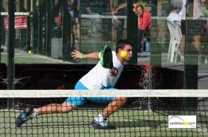 Mauro Del Negro 3 padel 3 masculina II Torneo Paneque El Cónsul Octubre 2012