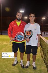 jesus marquet y marco musso campeones padel 2 masculina torneo thb reserva higueron noviembre 2012