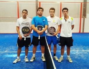 finalistas 2 masculina torneo padel indoor campillos noviembre 2012