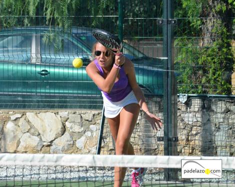 portada Ana Morales 4 padel 4 femenina II Torneo Paneque El Cónsul Octubre 2012