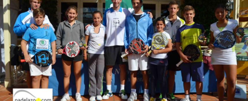 La cantera impone el peso de Málaga en el Campeonato de Andalucía de Pádel de Menores