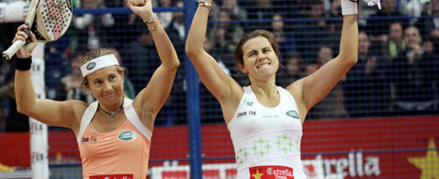 Carolina Navarro y Cecilia Reiter suman el quinto título PPT de 2012 en el Ágora de Valencia