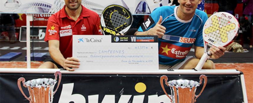 Lamperti y Grabiel imponen su pádel en el caos para vencer en los VII Internacionales Tutempo Valencia