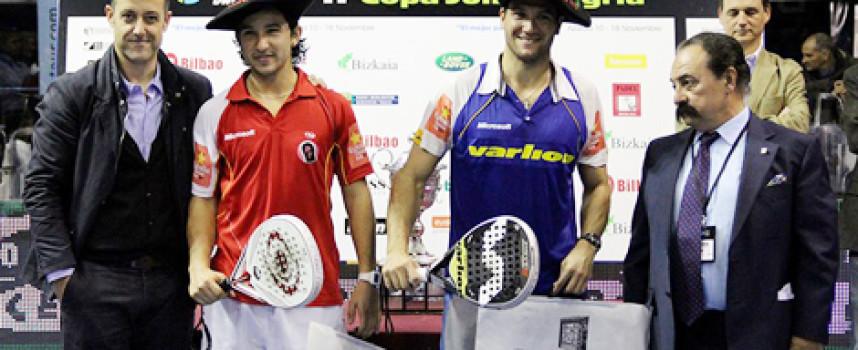 Seba Nerone y Sanyo Gutiérrez logran el tercer título PPT de 2012 en Bilbao