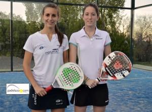 Bea Ramirez y Elena de la Torre 2ª femenina Open benefico padel matagrande antequera diciembre 2012