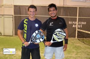 Cayetano Rocafort y Gabo Loredo final 1 masculina torneo padel aguinaldo ocean padel diciembre 2012