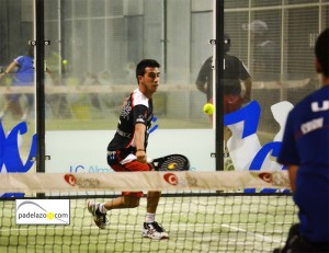 Chiqui Cepero final 1 masculina torneo padel aguinaldo ocean padel diciembre 2012