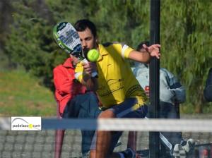 Fran Gonzalez final 1 masculina padel open benefico caritas club matagrande antequera diciembre 2012