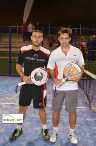 Fran Tobaria y Willy Ruiz campeones final 1 masculina Open Padel Ground Pinos del Limonar diciembre 2012
