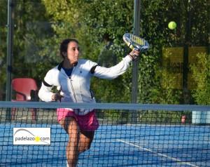 Maru San Emeterio 2ª femenina Open benefico padel matagrande antequera diciembre 2012