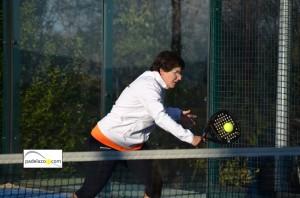 Mary Paz jimenez 2ª femenina Open benefico padel matagrande antequera diciembre 2012