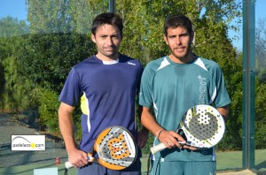 Willy Ruiz y Fran Tobaria campeones final 1 masculina padel open benefico caritas club matagrande antequera diciembre 2012