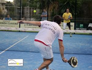 Apoyo a Juan Carlos Almansa padel 3 masculina open padel ground pinos limonar diciembre 2012