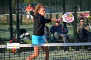Sandra Montilla 3 padel 3 femenina torneo onda cero el consul diciembre 2012