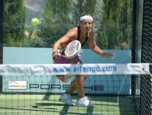Carolina Navarro, en el club Cerrado del Águila
