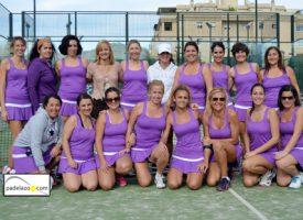 Equipando con ropa de pádel a la Liga Femenina Padelazo