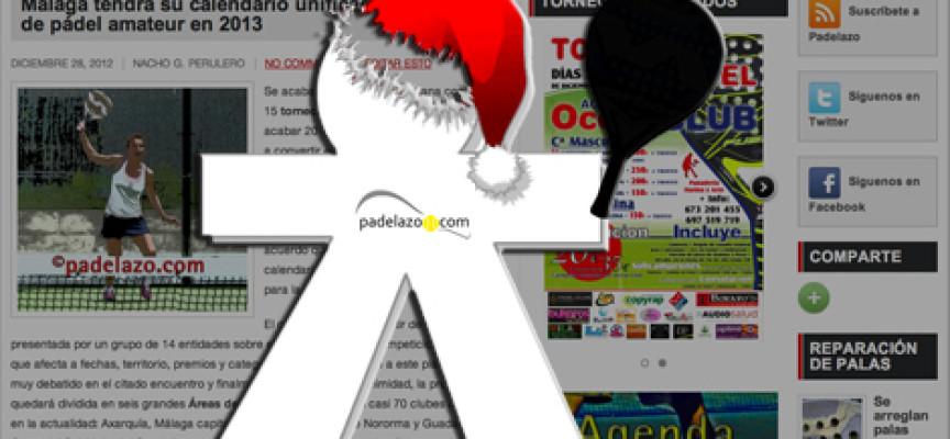 La inocentada Padelazo regala un falso calendario de torneos de pádel para Málaga