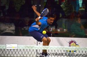 Javi Marquez final 2 masculina Torneo Scream Padel Casamar Racket Club Fuengirola enero 2013