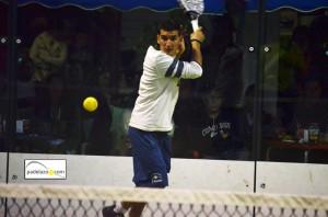 Jose Huertas Tigre final 2 masculina Torneo Scream Padel Casamar Racket Club Fuengirola enero 2013