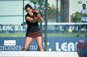 Alicia Jimenez padel 3 femenina Torneo Scream Padel Casamar Racket Club Fuengirola enero 2013
