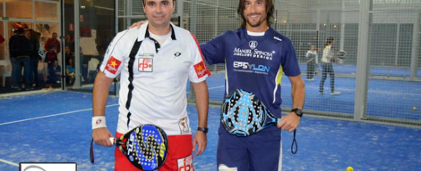 El pádel eléctrico de Godo Díaz y Guille Demianiuk marca su triunfo en Estepona