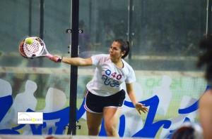 leticia garcia final 1 femenina campeonato provincial padel malaga ocean padel enero 2013