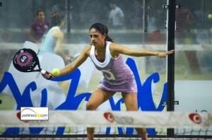 mari carmen villalba final 1 femenina campeonato provincial padel malaga ocean padel enero 2013