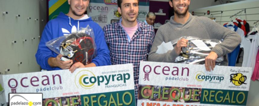 El pádel acomoda su espectáculo en el I Torneo Mi colchón de Ocean Pádel Club