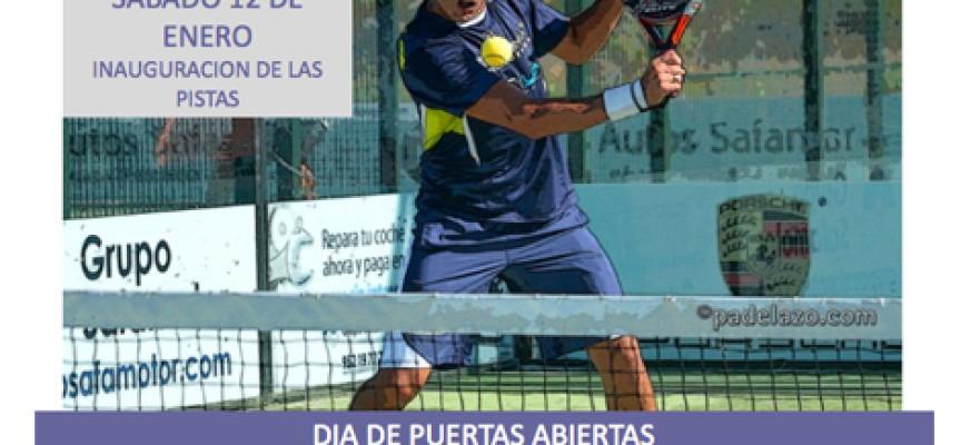 Un clínic gratuito con Demianiuk inaugurará las pistas de pádel del Club de Tenis Miraflores