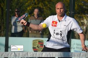 Juanjo Gutierrez padel 1 masculina torneo screampadel cerrado del aguila febrero 2013