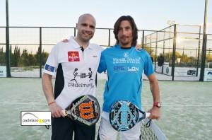 Juanjo Gutierrez y Guille Demianiuk 2 padel 1 masculina torneo screampadel cerrado del aguila febrero 2013