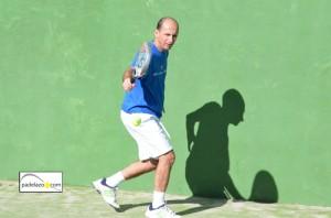 Juan Jose Hinojosa padel categoria +45 campeonato provincial veteranos malaga febrero 2013 capellania