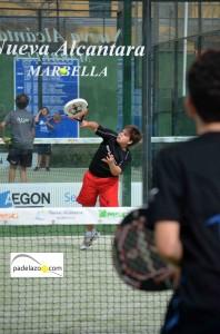 entrada Jose Solano infantil masculino circuito andaluz padel menores fap nueva alcantara marbella marzo 2013