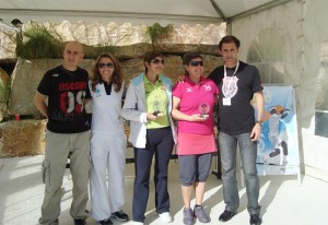 bettina diaz y mamen duran Prueba Circuito Provincial Veteranos Reserva Higueron Malaga marzo 2013