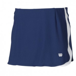 falda wilson padel azul