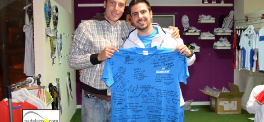 Carlos Muñoz se despide de Málaga en el Torneo Express del Ocean Pádel Club