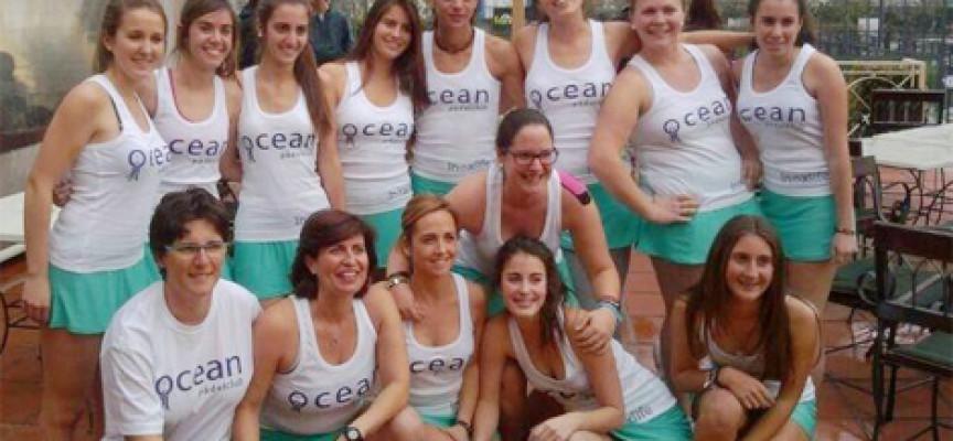 Las chicas de Ocean Padel lucen su juego en el Campeonato de Andalucía por Equipos de 2ª en Nueva Alcántara