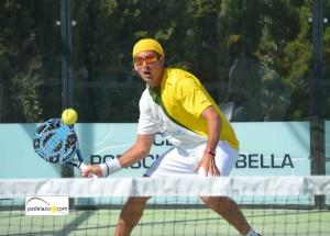 Guille Demianiuk padel 1 masculina Torneo Memorial Jesus Marquet Muñio Cerrado del Aguila abril 2013
