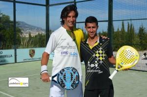 Guille Demianiuk y Chiqui Cepero campeones padel 1 masculina Torneo Memorial Jesus Marquet Muñio Cerrado del Aguila abril 2013