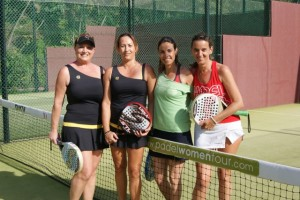 foto dkv women padel tour 2013