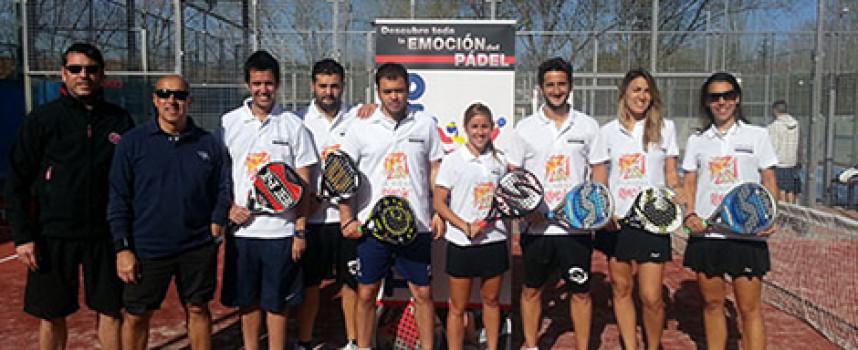 La Liga Costa del Sol lleva su pádel a Madrid para participar en la II Twinning League