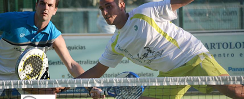 Fran Cepero y Nacho González sobreviven a la final del caos en el Torneo Tecny-Ges de Lew Hoad