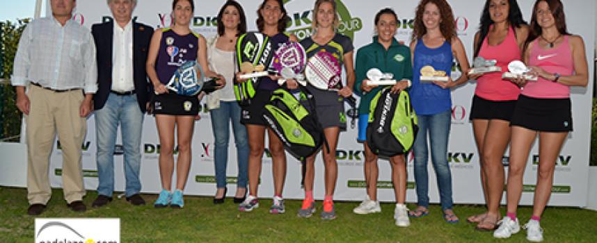El DKV Padel Women Tour 2013 encuentra en Malaga a sus primeras campeonas antes de partir hacia Barcelona