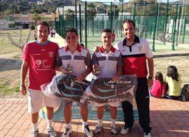 Punto Pádel Málaga reúne en su último torneo 30 bolsas de ropa para la Ciudad de los Niños