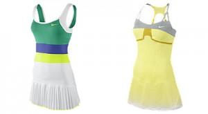 vestidos tenis nike. Foto: Nike.