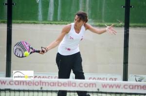 almudena tore club los caballeros real club padel marbella campeonato andalucia por equipos 3 categoria abril 2013