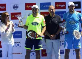 Bela y Juan Martín conquistan Cáceres y mantienen el pleno en el World Padel Tour
