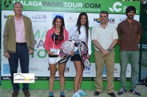 Begoña Urresti y Elisa Gordo campeonas 3 femenina torneo malaga padel tour club calderon mayo 2013
