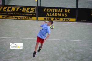 Braulio Rizo 2 padel 2 masculina torneo cruz roja lew hoad mayo 2013